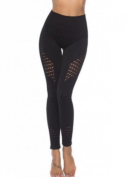 Women's Athletic Casual Polyester Spandex Fitness Pants Fitness & Yoga_5