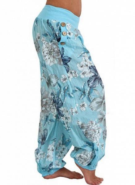 Women's Casual Chiffon Yoga Pants Fitness & Yoga_6