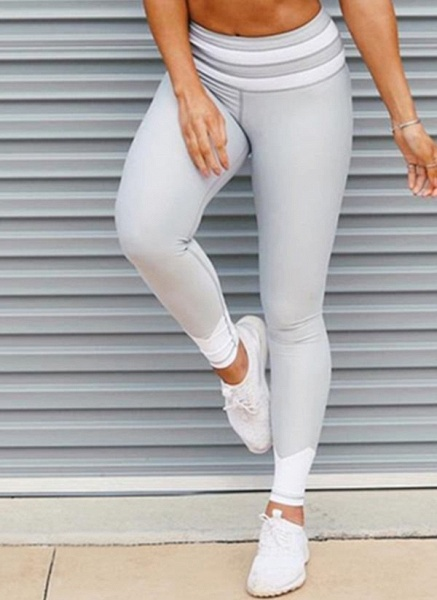Women's Athletic Casual Sporty Polyester Yoga Bottoms Fitness & Yoga_1