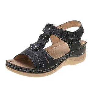 Women's Flats Slingbacks Flat Heel Sandals Platforms_3