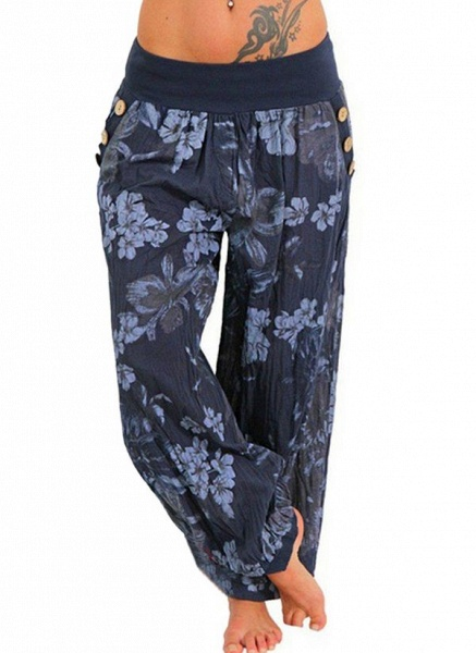 Women's Casual Chiffon Yoga Pants Fitness & Yoga_3