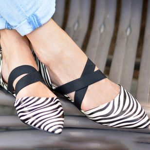 Women's Closed Toe Flat Heel Sandals_2