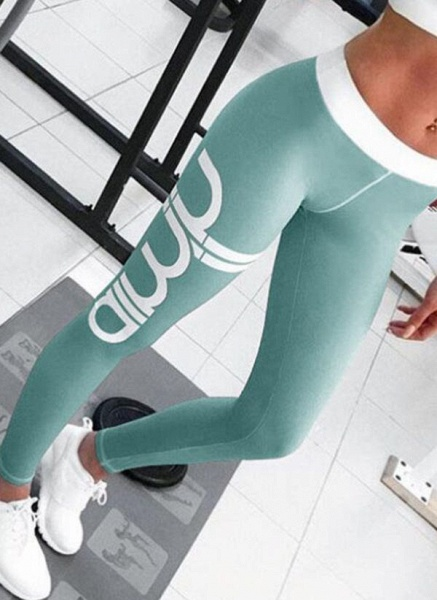 Women's Athletic Sporty Fashion Polyester Yoga Bottoms Fitness & Yoga_5