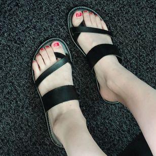 Women's Flats Toe Ring Flat Heel Sandals_2