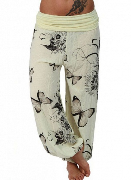 Women's Casual Polyester Yoga Bottoms Fitness & Yoga_5