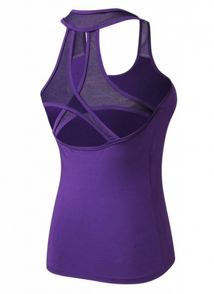 Women's Athletic Casual Polyester Yoga Top Fitness & Yoga_2
