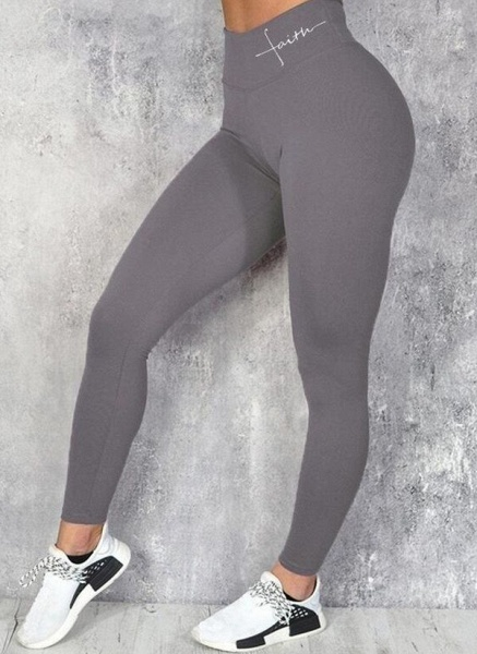 Women's Athletic Sexy Acrylic Fitness Pants Fitness & Yoga_2