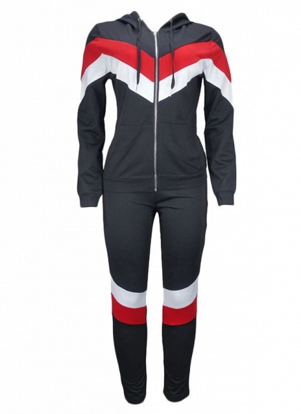 Women's Athletic Casual Sporty Polyester Fitness Clothing Suit Fitness & Yoga_2