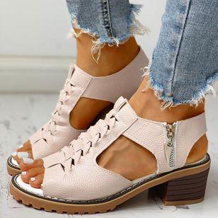 Women's Slingbacks Heels Chunky Heel Sandals_6