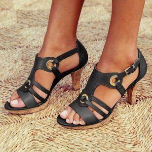 Women's Heels Flat Heel Sandals_4