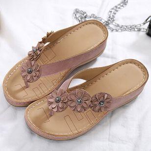Women's Peep Toe Slingbacks Wedge Heel Sandals_1