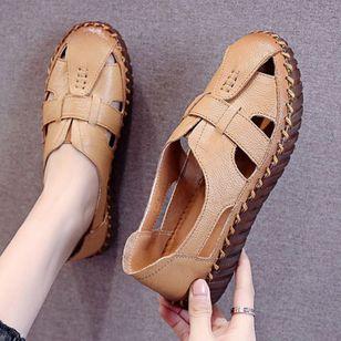 Women's Hollow-out Flats Flat Heel Sandals Flats_1