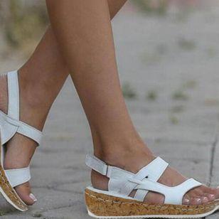 Women's Velcro Flats Flat Heel Sandals_3