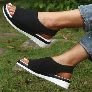 Women's Flats Cotton Flat Heel Sandals_3