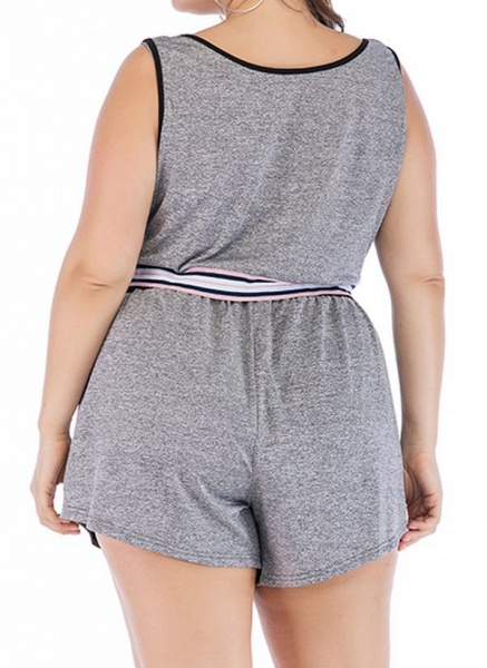 Women's Athletic Casual Polyester Fitness Clothing Suit Fitness & Yoga_2