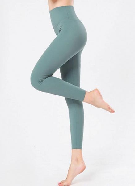 Women's Casual Nylon Yoga Leggings Fitness & Yoga_7