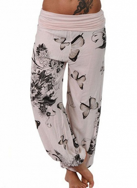 Women's Casual Polyester Yoga Bottoms Fitness & Yoga_4