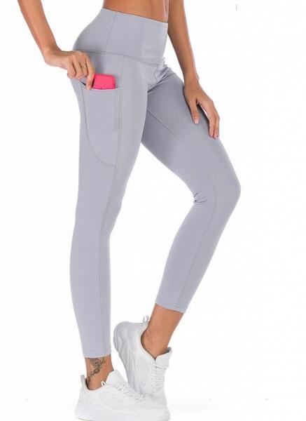 Women's Casual Polyester Yoga Leggings Fitness & Yoga_4