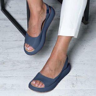 Women's Slingbacks Flat Heel Sandals_1