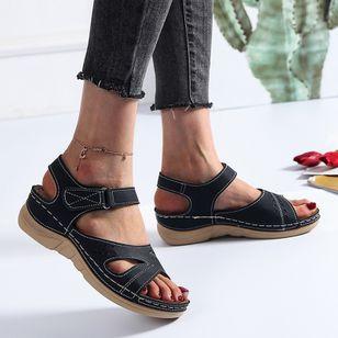 Women's Flats Slingbacks Flat Heel Sandals Platforms_2