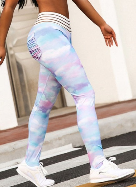 Women's Athletic Casual Polyester Spandex Fitness Pants Fitness & Yoga_1