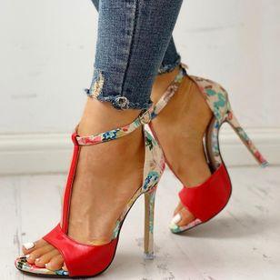 Women's Buckle Heels Stiletto Heel Sandals_6