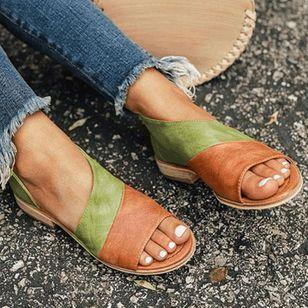 Women's Split Joint Flats Flat Heel Sandals_3