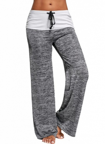 Women's Athletic Casual Sporty Fashion Polyester Yoga Pants Fitness & Yoga_2