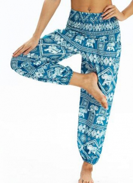 Women's Athletic Casual Sporty Polyester Yoga Bottoms Fitness & Yoga_5