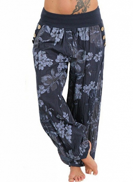 Women's Athletic Casual Sporty Polyester Yoga Pants Fitness & Yoga_5