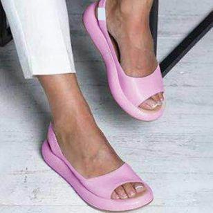 Women's Slingbacks Flat Heel Sandals_4