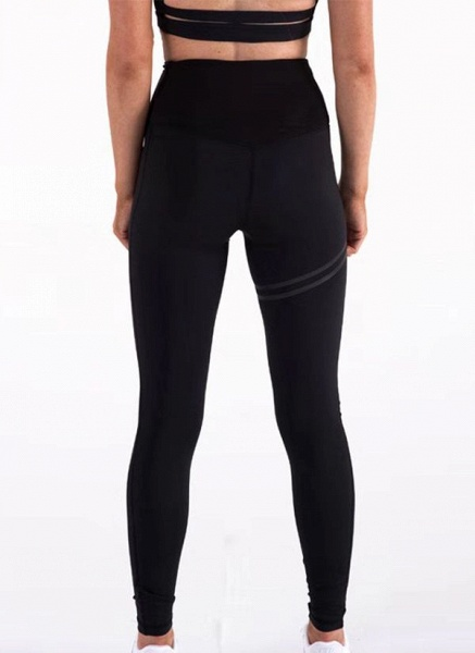 Women's Athletic Sexy Polyester Yoga Bottoms Fitness & Yoga_1