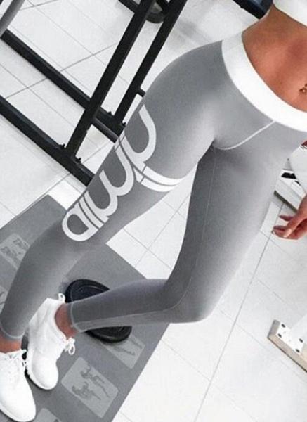Women's Athletic Sporty Fashion Polyester Yoga Bottoms Fitness & Yoga_1