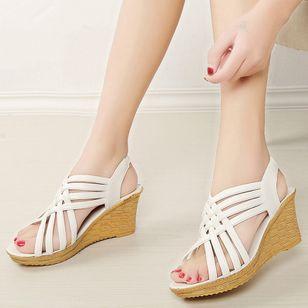 Women's Slingbacks Wedge Heel Sandals_6