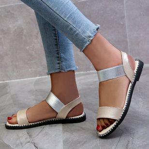 Women's Slingbacks Flat Heel Sandals_7