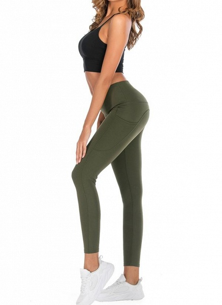 Women's Casual Polyester Yoga Leggings Fitness & Yoga_3