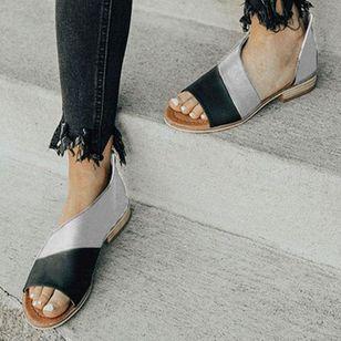Women's Split Joint Flats Flat Heel Sandals_4