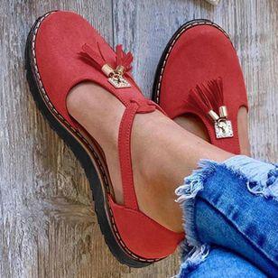 Women's Closed Toe Flat Heel Sandals_4