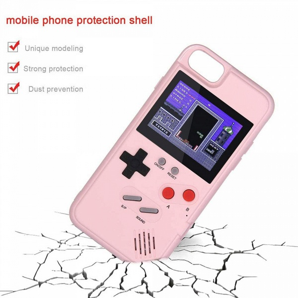 Gameboy iPhone Case with 36 Classic Games_11