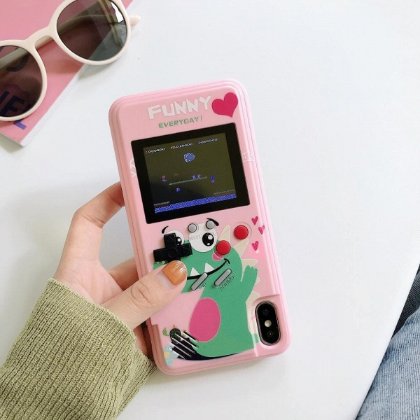 Gameboy iPhone Case with 36 Classic Games_1