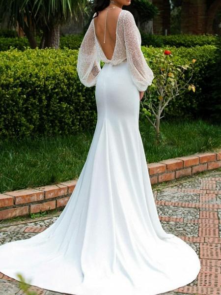 Lt7741373 Vintage Boho Long Sleeve Wedding Dress_2