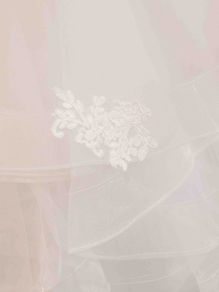 Ball Gown Wedding Dresses Jewel Neck Floor Length Lace Tulle Half Sleeve Glamorous See-Through Backless Illusion Sleeve_12
