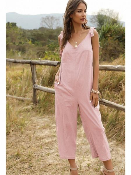 Women's Blue Blushing Pink Jumpsuit_7
