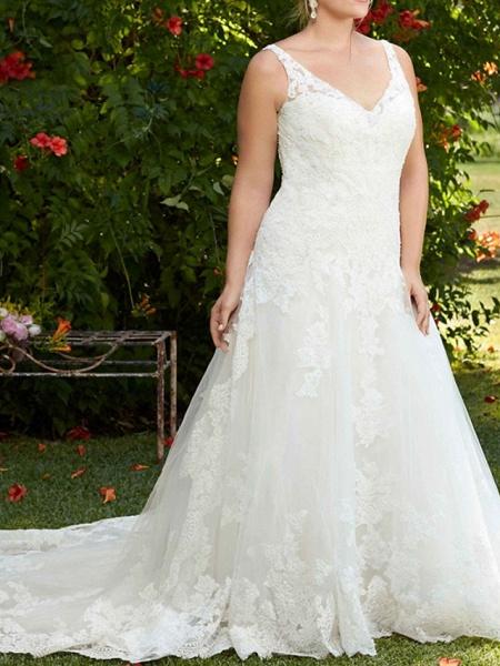 Lt8045536 Vintage Boho Straps Wedding Dress_4
