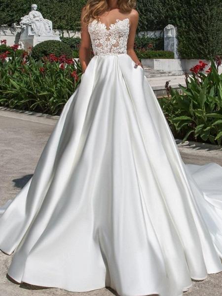 Lt7976000 Elegant A-line Boho Beach Wedding Dress_1