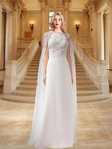 Lt8045663 A-line Tulle Boho Lace Wedding Dress_1
