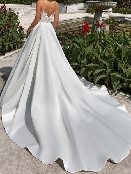 Lt7976000 Elegant A-line Boho Beach Wedding Dress_2