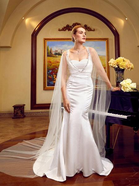 Lt6036351 Elegant Mermaid Boho Beach Wedding Dress_4
