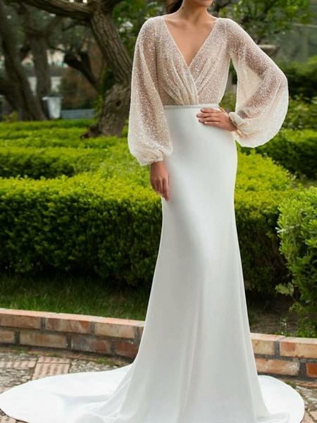Lt7741373 Vintage Boho Long Sleeve Wedding Dress_1