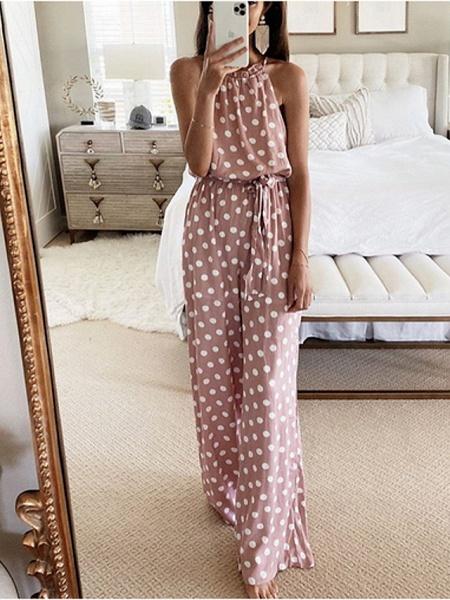 Women's Blushing Pink Jumpsuit_2